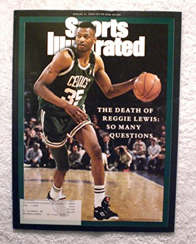 (The Death of Reggie Lewis - Boston Celtics - Sports Illustrated - August 9, 1993 - SI)