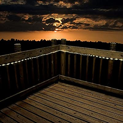 100 LED Solar Rope Lights