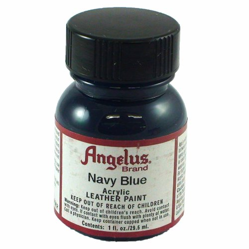 Springfield Leather Company's Navy Blue Acrylic Leather Paint