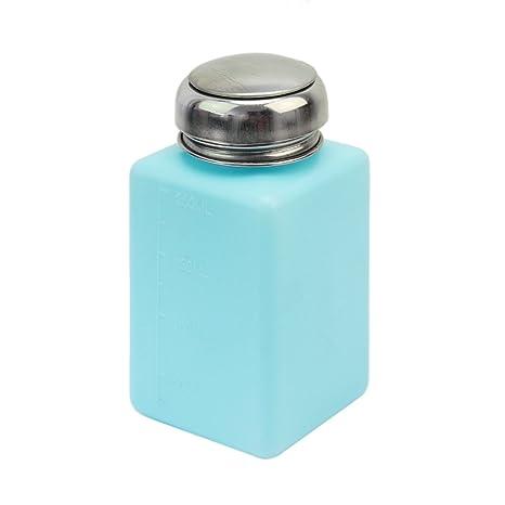 Lecimo Envase De Dispensador De Empuje De Metanol De Acetona LíQuida AntiestáTico del Alcohol 200ml