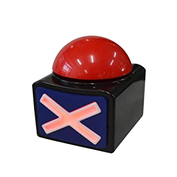 Amazon com: EUGNN Game Answer Buzzer Alarm Button with Sound