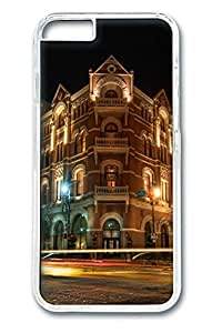 iphone 6 4.7inch Case and Cover City night PC case Cover for iphone 6 4.7inch transparent