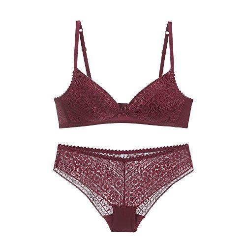 Women Lace Bra & Panty Set
