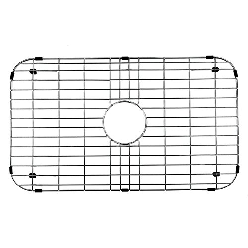 (VIGO Stainless Steel Bottom Grid, 26-in. x 14.375-in.)