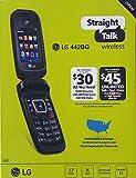 LG 442BG Straight Talk Pre Paid Flip Phone