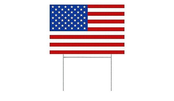 Amazoncom Cgsignlab American Flag Double Sided Weather