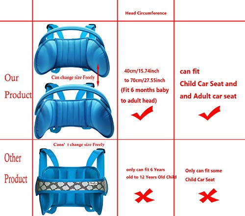 Buy head holder for car seat
