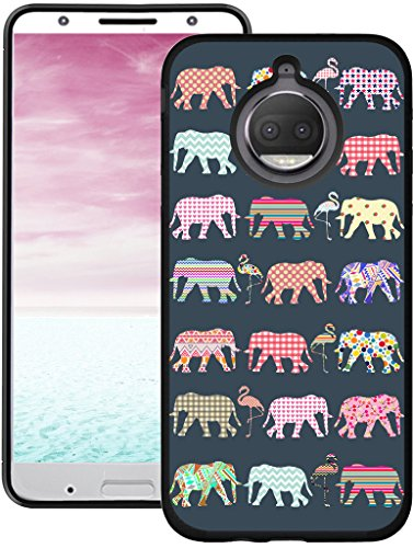 Moto G5S Plus Case - CCLOT Protective Cover Compatible for Motorola Moto G5S Plus G5S+ Alluring Sunset Scene Pattern Slim (TPU Protective Silicone Bumper Skin)