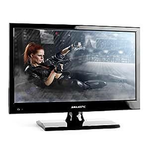 "New Majestic TVD-215 LED BK - Televisor (396.2 mm (15.6 ""), HD-Ready, 1366 x 768 Pixeles, Analógico y Digital, PAL, PAL BG, PAL DK, PAL I, SECAM, SECAM B/G, SECAM D/K, SECAM L, DVB-T) Negro [Importado de Italia]"