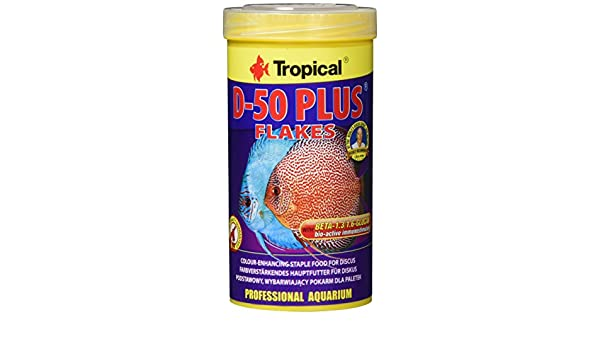 Tropical - D-50 Plus Copos Para Discus, 250Ml: Amazon.es: Productos para mascotas