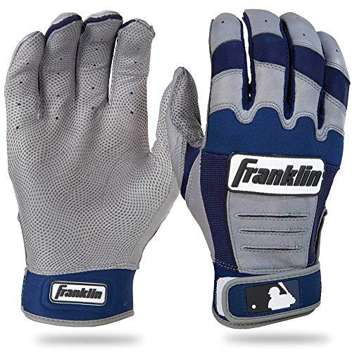 Gray Batting Gloves - 4