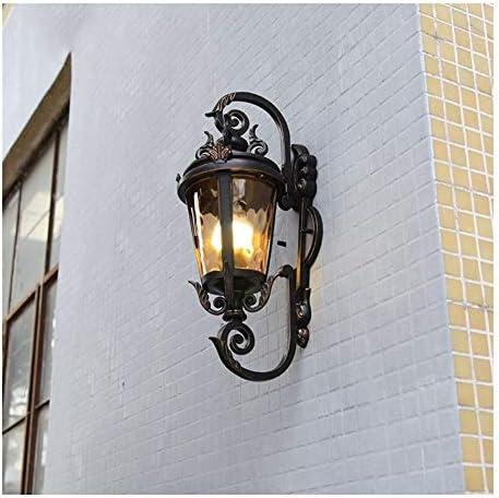 パティオウォールライトフィクスチャ屋外壁掛けライト表 階段アイルパーク、屋内と屋外の壁ランプに適しガーデンライトマルチプロセスアルミ壁ランプ外防水レトロなヨーロッパのクリエイティブウォールライトアウトドア (Size : L)