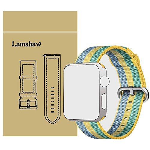 Lamshaw Classic Replacement iWatch Yellow 38mm product image
