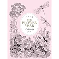 Flower Year: A Colouring Book