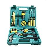 GNEY 16 Pcs in 1 Multi-Functional Universal Set Repair Tool Kit for Household Electronics Repair Full Tool Kit Set for Emergency Uses