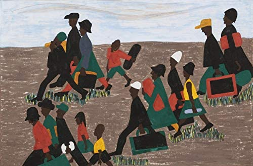 Jacob Lawrence Giclee Canvas Print  Poster Reproduction