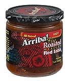 Arriba! Hot Red Salsa, 16-Ounce Glass