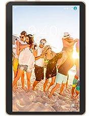 "4G LTE Tablet con Display 10"" YOTOPT Android 9.0 Tablet PC 64 GB Espandibili, 4 GB RAM, Type-c, GPS WIFI (Nero)"