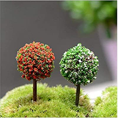 29pcs Mixed Model Trees, 1.5-5 inch(4-12 cm), OrgMemory Fruit Trees, Ho Scale Trees, Model Train Scenery, Architecture Trees, Flower Trees with No Bases: Toys & Games