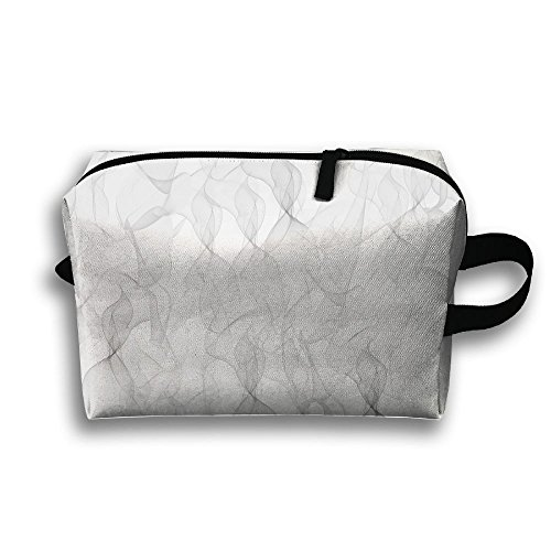 Smoking Painting Travel Toiletries Bag Cosmetic Pouch Tote Multifunction Organizer Storage