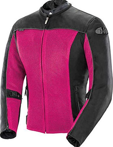 - Joe Rocket Velocity Women's Mesh Street Motorcycle Jacket - Pink/Black/Large