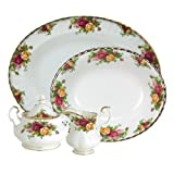 Royal Albert Old Country Roses 5-Piece Completer Set
