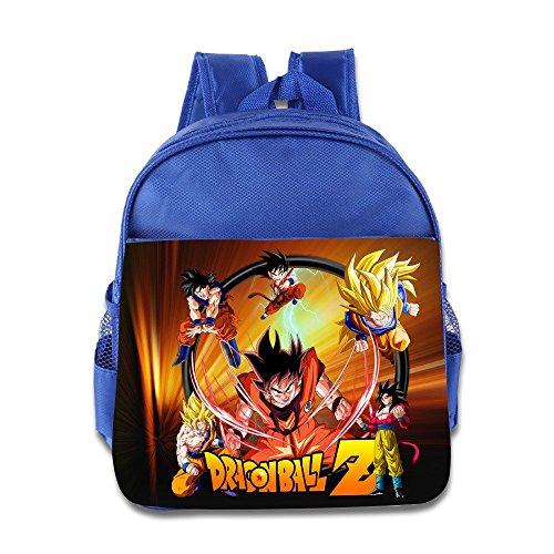 Render Dragon Ball Z Goku Kids School Backpack (Green Bay Packers Telephone)
