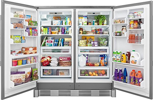 amazon professional stainless steel refrigerator freezer combo trim appliances frigidaire ice maker troubleshooting frigi