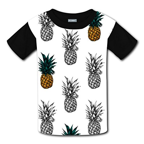 Pineapples Ananas Comosus Bromel T-shirts Tee Shirt for Kids Tops Costume (M Template For M&m Costume)