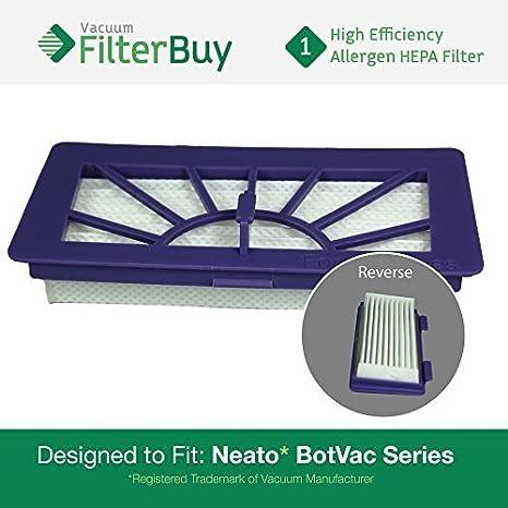 Neato XV Series filtro de alto rendimiento, parte XV-21 (XV21). Diseñado por filterbuy para Neato XV Serie Robot aspira: Amazon.es: Hogar