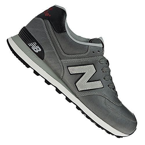 New Balance M574GS Herren Sneaker Grau (Grey/Black Ukg)