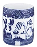 $19.99HIC Blue Willow Utensil and Kitchen Tool Holder, Fine White Porcelain, 6-Inches