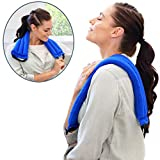 Product review for My Heating Pad- Multi Purpose Wrap - Natural Heat Therapy - Neck Pain Relief (Blue)
