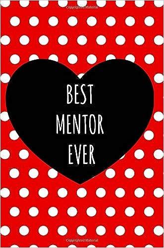 Best Mentor Ever: Gifts, Notebook, Boss, Coach, Work ...