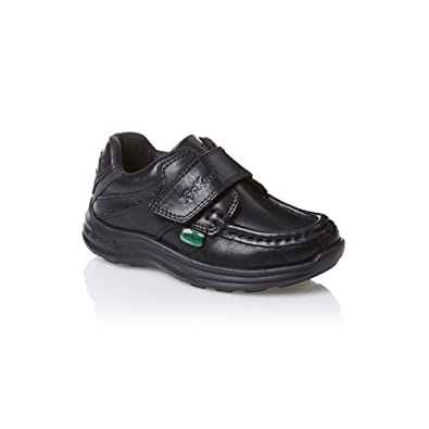 6a0cd6a841 Kickers Boys (Infants) Reasan Strap Black School Shoes: Amazon.co.uk: Shoes  & Bags