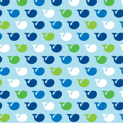 16-Count Paper Beverage Napkins, Ocean Preppy Boy Birthday ()