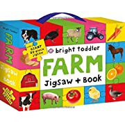 Bright Toddler: Farm Jigsaw and Book Set