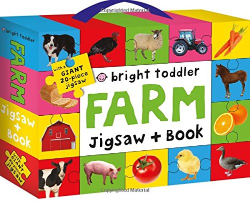 Read Online Bright Toddler: Farm Jigsaw and Book Set ebook