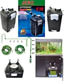 Jebo 838 External Canister Filter-(for Aquariums up to 150 Gallons)