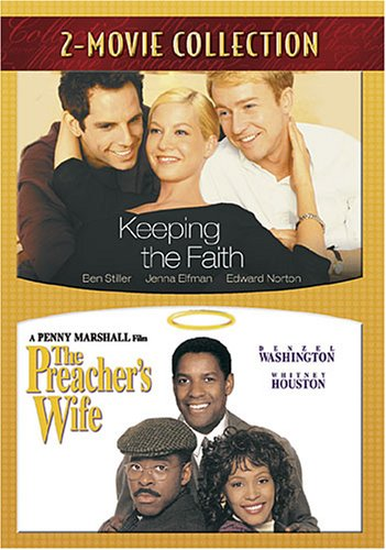 DVD : Keeping The Faith & Preacher's Wife (2 Pack, 2PC)