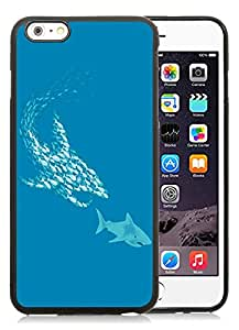 New DIY Personalized School of Fish iPhone 6 Plus 6th Generation 5.5 Inch Black Phone Case CR-566