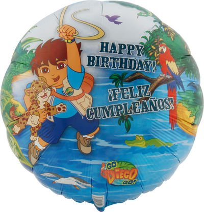 Go Diego, Go! 18in Balloon