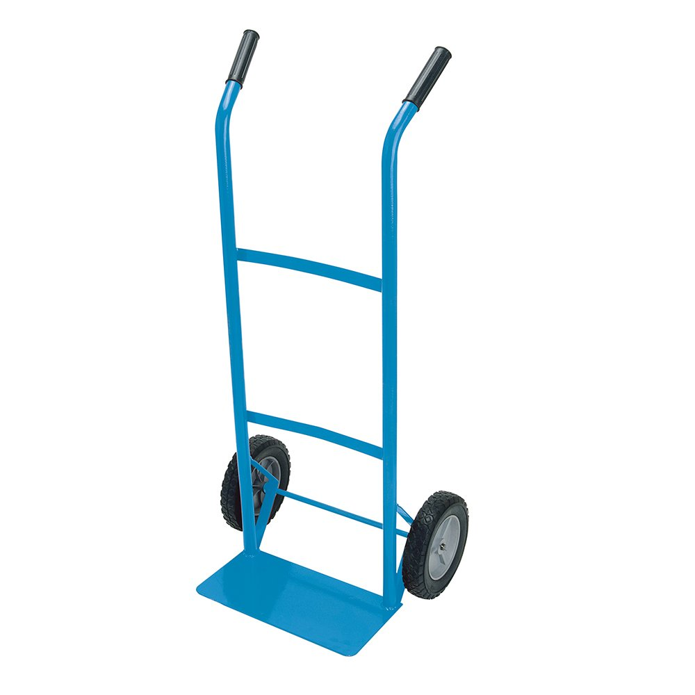 Silverline 667325 Steel Sack Truck Trolley 100kg Load Capacity SLTL4