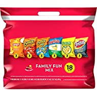 Frito-Lay Family Fun Mix Variety Pack, 18 Count