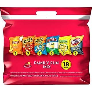 Frito-Lay Family Fun Mix Variety Pack, 18 Count