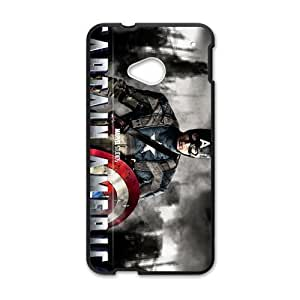 DAZHAHUI Captain America Cell Phone Case for HTC One M7