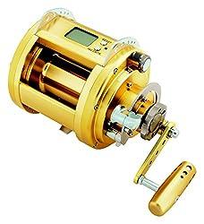 Daiwa Dendoh Marine Power Deep Sea Power Assist Fishing Reel, Gold - Mp3000-12v