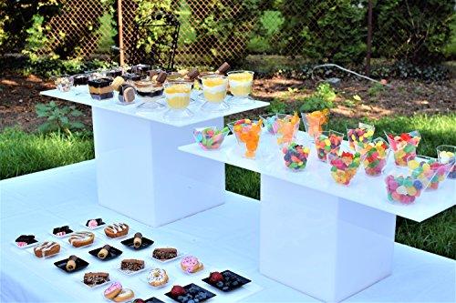 Десертная тарелка Exquisite Plastic Mini Square