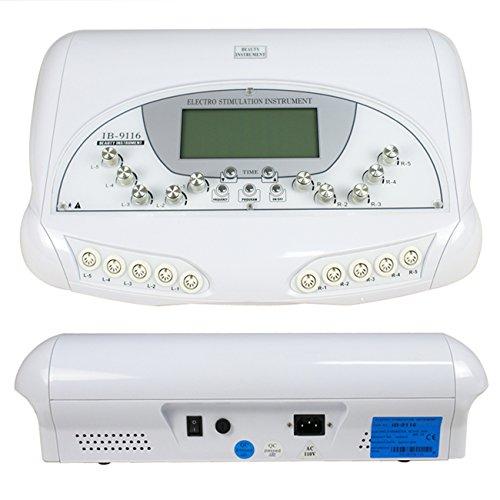 F2C® Pro Micro-current Body Shaping Shaper Firm Fitness Weight Loss Salon Beauty Equipment Spa Machine Ib-9116 - Silver - 8x15x20