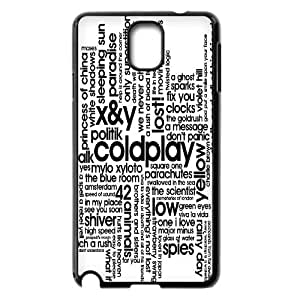 Hjqi - Personalized Coldplay Plastic Case, Coldplay Unique Back Case for Samsung Galaxy Note 3 N9000